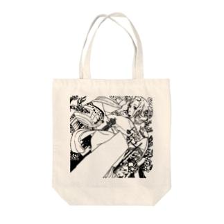 梅田さんと通天閣 Tote bags