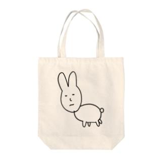 うさぎたん@無職のうさぎたん Tote bags