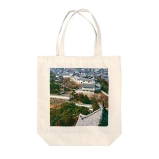 日本の城:姫路城 Japanese castle: Himeji Castle Tote bags