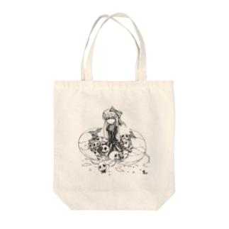 ネクロエッグ Tote bags