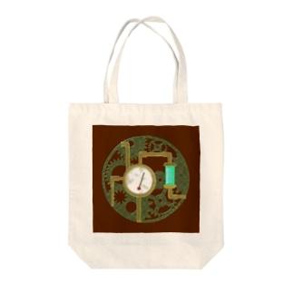 Mechanical Mechanism Tote bags