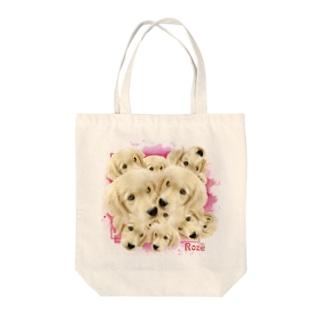 ゴールデンレトリバー★ロゼちゃん Tote bags
