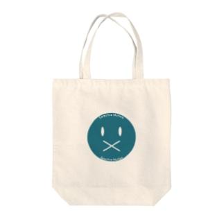 かんもくロゴマーク Tote bags