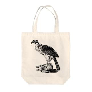 オオタカ <アンティーク・プリント> Tote bags