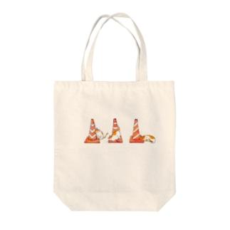 にゃんコーン Tote bags