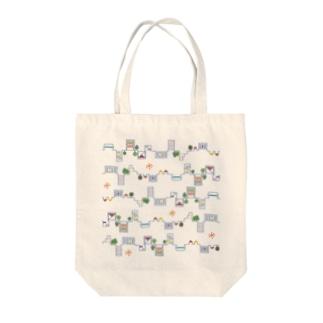 凸凹Town Tote bags