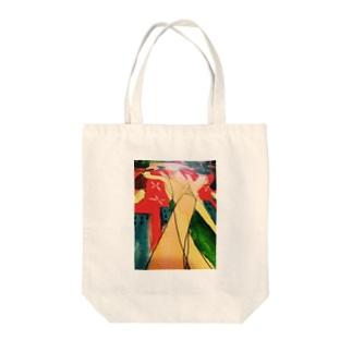 世界の果てシリーズ Tote bags