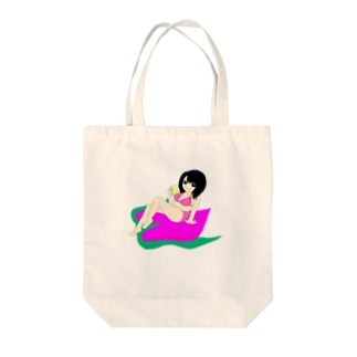 桃宮ももトートバッグ Tote bags