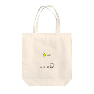ピーちゃん家族 Tote bags