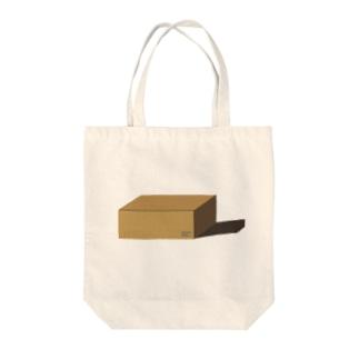 段ボールシリーズ Tote bags
