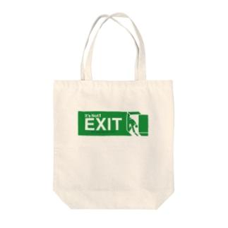 「そこは出口ではありません」 Tote bags