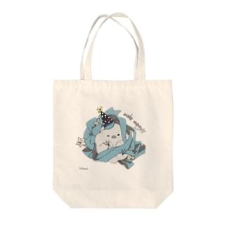 パーティーピヨ Tote bags