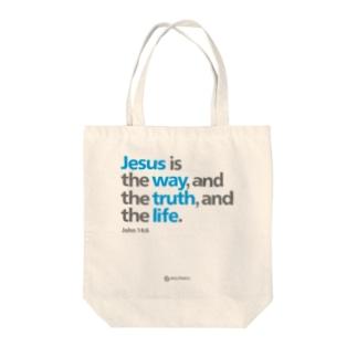 Jesus Is トートバッグ
