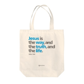 Jesus Is Tote bags
