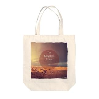 Thy Kingdom Come Tote bags