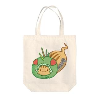 UMAごっこの劇団UMAごっこ劇団ロゴイラスト Tote bags