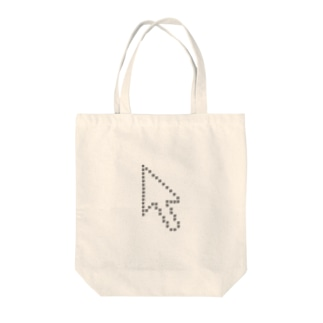 QRコードカーソル Tote bags