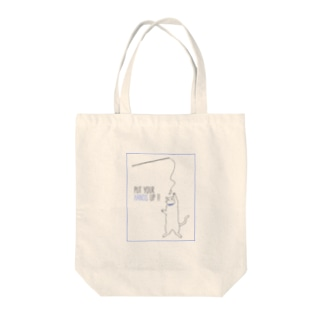 PUT YOUR HANDS UP !! Tote bags