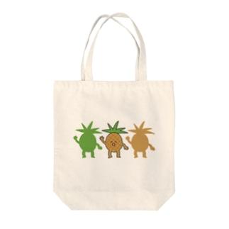 ズンドコパイン Tote bags