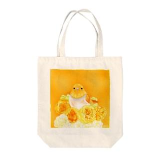 Orange〜コマドリ Tote bags