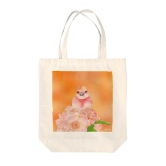 KISAのPeach〜ベニマシコ Tote bags
