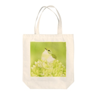 Celery〜イイジマムシクイ Tote bags