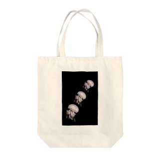 【Noir SHOP】のmonokuro jelly fish* Tote bags