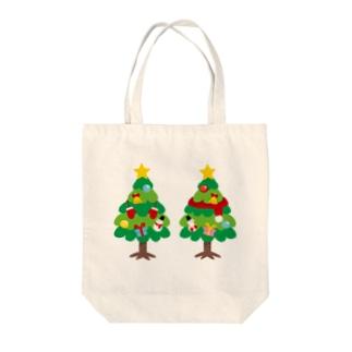 CT88 林さんのクリスマスB Tote bags