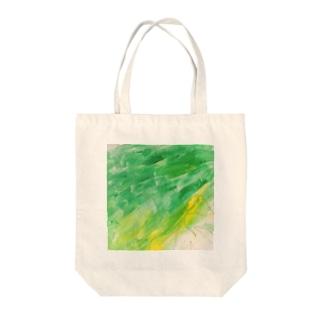 緑の妖精 Tote bags