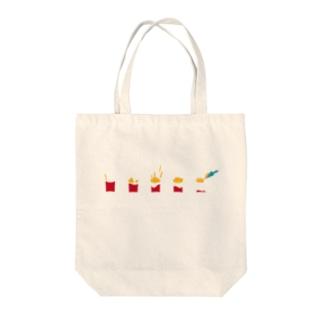 フライドポテト Tote bags