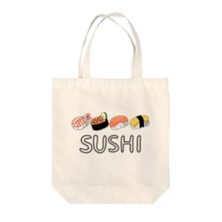 SUSHI. Tote bags