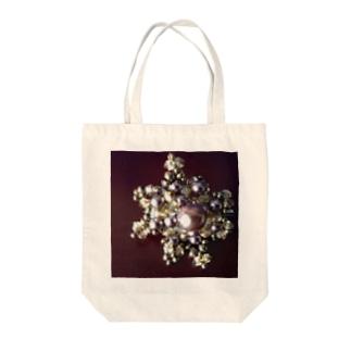 ビーズの星 Tote bags
