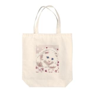 ペルシャ猫💝 Tote bags