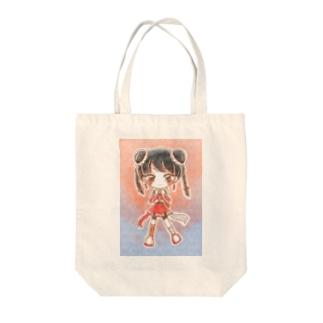 キラキラ・チャイナ Tote bags