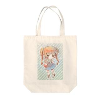 キラキラ・ソーダ Tote bags