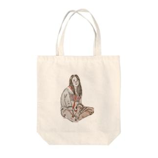 小原 泰彦のスマイル Tote bags