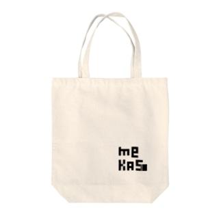メカス Tote bags