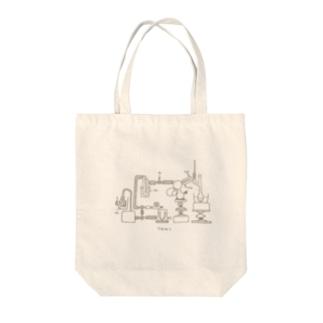化学実験 Tote bags