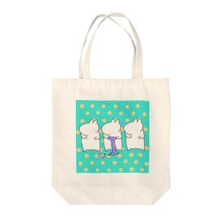 スライムとウサギ Tote bags