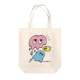 スライムオバケちゃん Tote bags