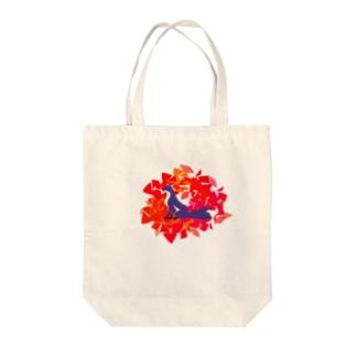 妖狐の思慕 Tote bags