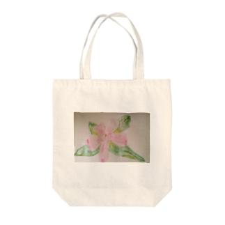 ヤマツツジ Tote bags