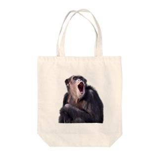 チンパンマン Tote bags