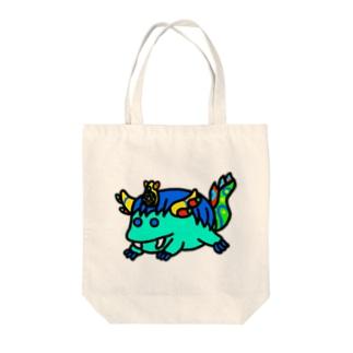 まるっと青龍 Tote bags