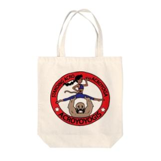 Acroyoyogis Logo Tote bags