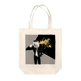 汚い花火 Tote bags