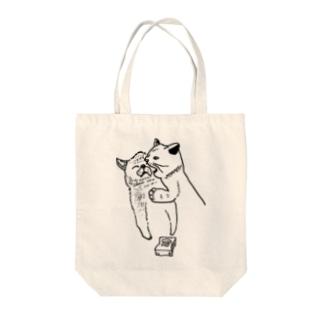 ガブ猫 Tote bags