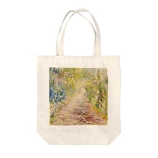 光の通り道 Tote bags