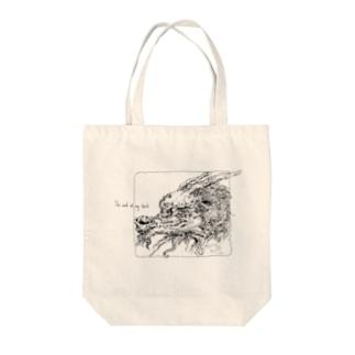 追い風龍 Tote bags