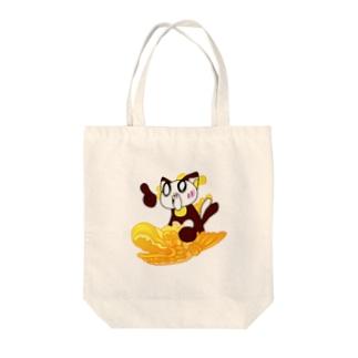 シャチホコねここバージョン Tote bags